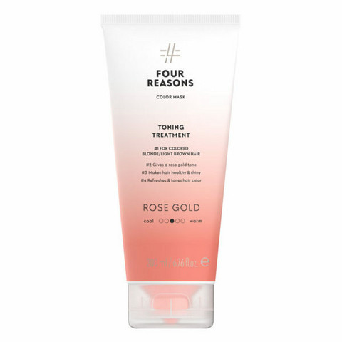 Four Reasons Color Mask Toning Treatment Rose Gold
