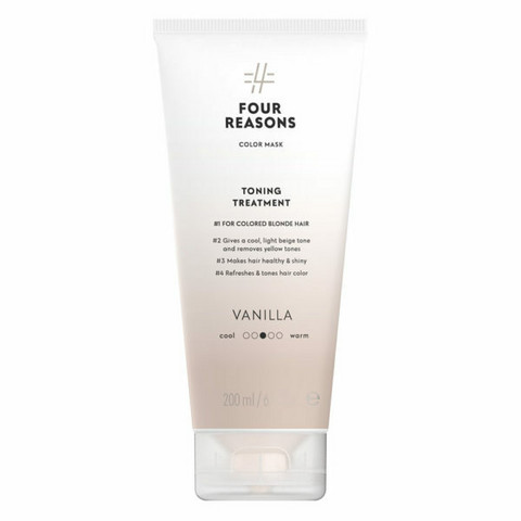 Four Reasons Color Mask Toning Treatment Vanilla