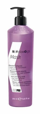 KayPro Kepro No Yellow Gigs Mask Vaalean hiuksen Hopeahoitoaine 350 ml