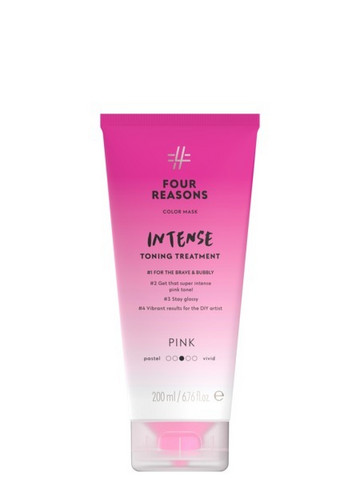 Four Reasons Color Mask Intense Toning Treatment  Pink 200ml
