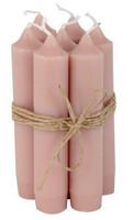 Kruunukynttilä 11cm Dusty pink