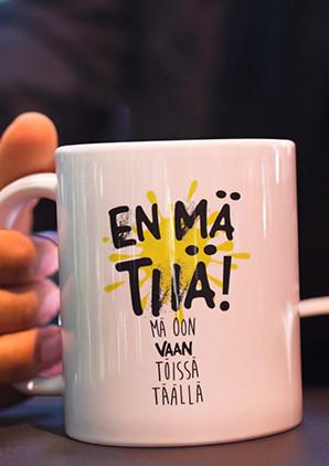 SHH! Kahvikuppi