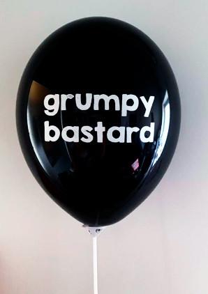 Grumpy bastard ilmapallo