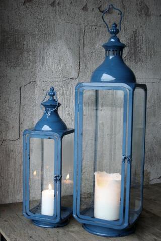 Metallilyhty Sininen 52cm