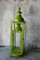 Metallilyhty vihreä 72cm