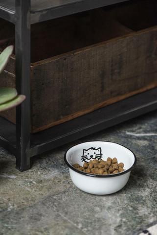 Kissan ruoka/juoma-astia