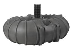 MX-Luja 2 x 5000 litraa - lokasäiliö huoltoluukulla kytkettynä