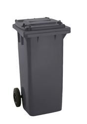 jäteastia 140 litraa, ruskea