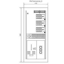 MITTAUSKESKUS UPP A-COLLECTION A-SMK50/36JS/3VVS+YJ-SUOJA