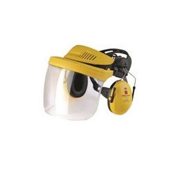 Visiiri-kuulonsuojainyhdistelmä G500 kirkas visiiri, 3M
