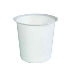 Muovinen roskakori 22L valkoinen
