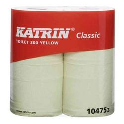 WC-PAPERI KELTAINEN 40 RLL KATRIN CLASSIC TOILET 300 Tuotenumero T06002740