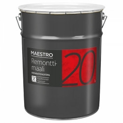 Maestro 20 remonttimaali, puolihimmeä, 0,9L