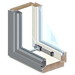 Ikkuna HR MSEA/1.0 131 12x6 Valk Symmetrinen