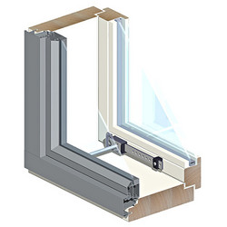 Ikkuna HR MSEA/1.0 131 12x12 Valk Symmetrinen