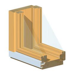 Ikkuna MS 131 SK 12x6 vas symm