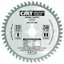 Yleisterä 216x2,8/30, Z48 -5° Neg., CMT
