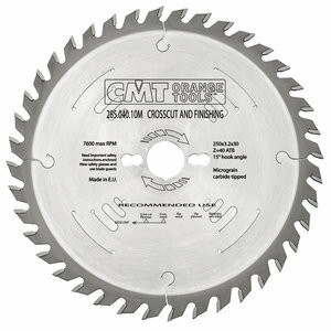 FINISHING SAW BLADE 315X3.2X30 Z36 15ATB, CMT