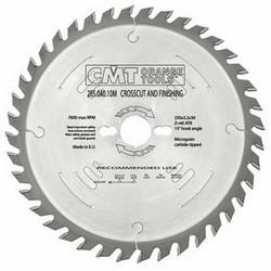 RIPPING-CROSSCUT SAW BLADE 250X3.2X30 Z40 10ATB, CMT