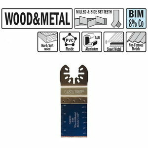 Plunge and flush-cut for wood and metal 32 mm, BiM, CMT