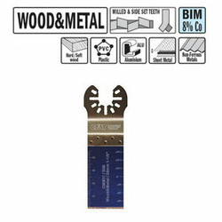 Plunge and flush-cut for wood and metal 28mm, BiM Co8, CMT