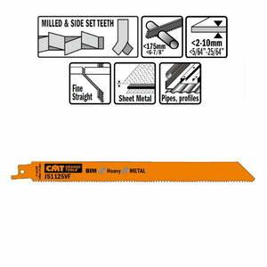 Puukkosahanterä 225mm 18TPI 5 kpl, CMT