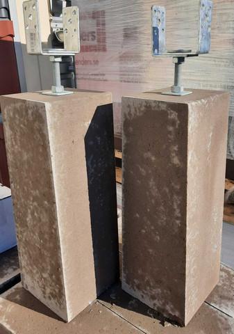 Benders Pilari 700mm + säädettävä pilari kenkä 84- 104mm