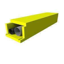 Putkikotelo FI-300,  100mmx1000mmx585mm