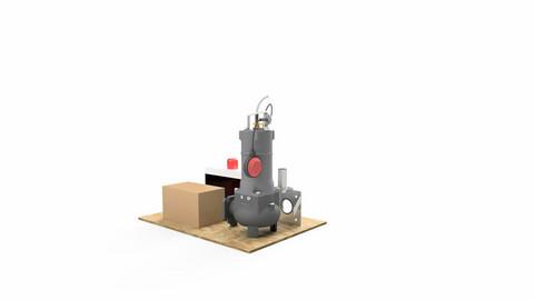 MX Pumppaamon tarvikepaketti JVP 3-v
