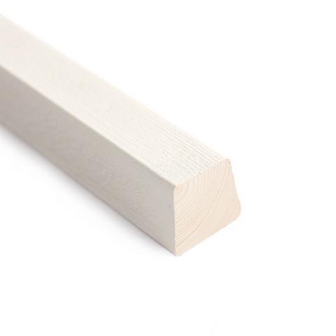 Säleikkörima SR/HS 42 x 42/32 4S pintamaalattu valkoinen
