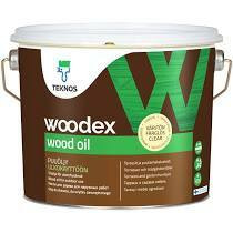 Woodex wood oil, 9 l, väritön