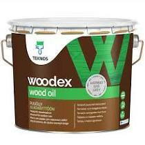 Woodex wood oil, 0,9l, HARMAA