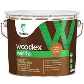 Woodex wood oil, 0,9l, Ruskea