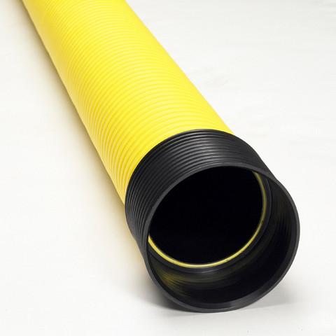 Kaapeliputki TEL B 75/62x6000mm keltainen PE tupla