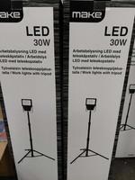 Työvalaisin jalalla LED 30W