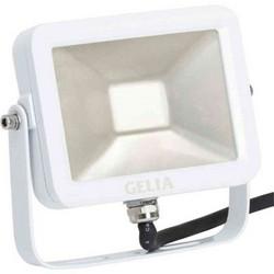 Valonheitin, LED, 10 W, huurrelasi, Slimline, Gelia