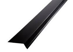 Räystäspelti RR33, Musta Pit. 2m