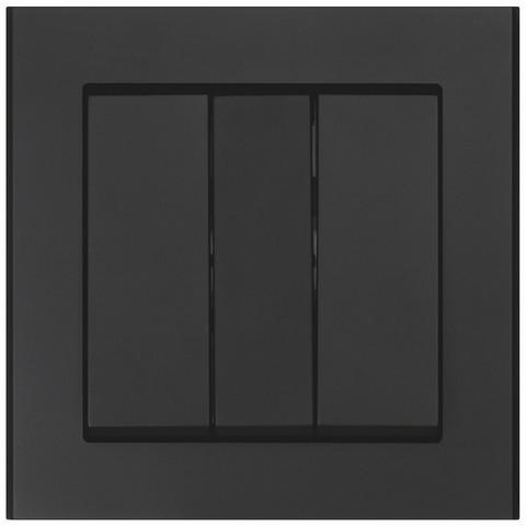 Valokytkin 3-osainen, Musta