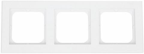 Yhdistelmäpeitelevy Optima, 3-osainen, Valkoinen