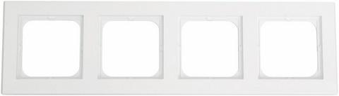 Yhdistelmäpeitelevy Optima, 4-osainen, Valkoinen