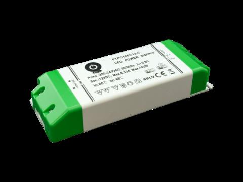 LED muuntaja 12V tai 24V tasajännite, teho 100W
