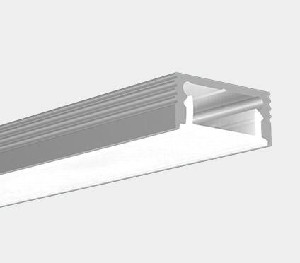 Led profiili LS1607, pienikokoinen alumiiniprofiili, pituus 2,5 metriä
