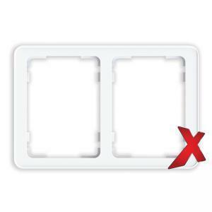 DesignX 2-osainen Peitelevy 2S valkoinen