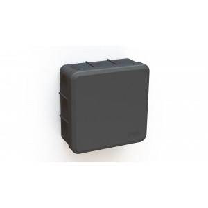 Jakorasia IP65 musta 85x85x38,5mm