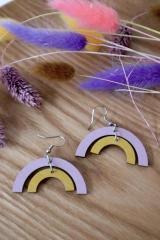 Sateenkaari -laventeli-keltainen