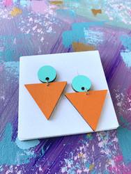 Triangeli -turkoosi-oranssi