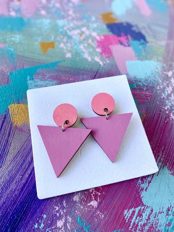Triangeli -pinkki-lila