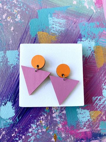 Triangeli -oranssi-lila
