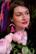 Kaaren alla -tumma pinkki