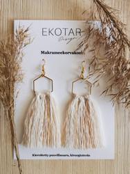 Trio-tupsukorvakorut, EKOTAR Design